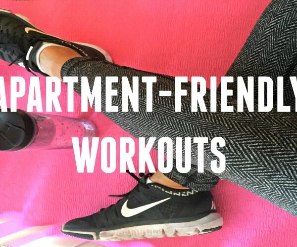 apartment-friendly workouts