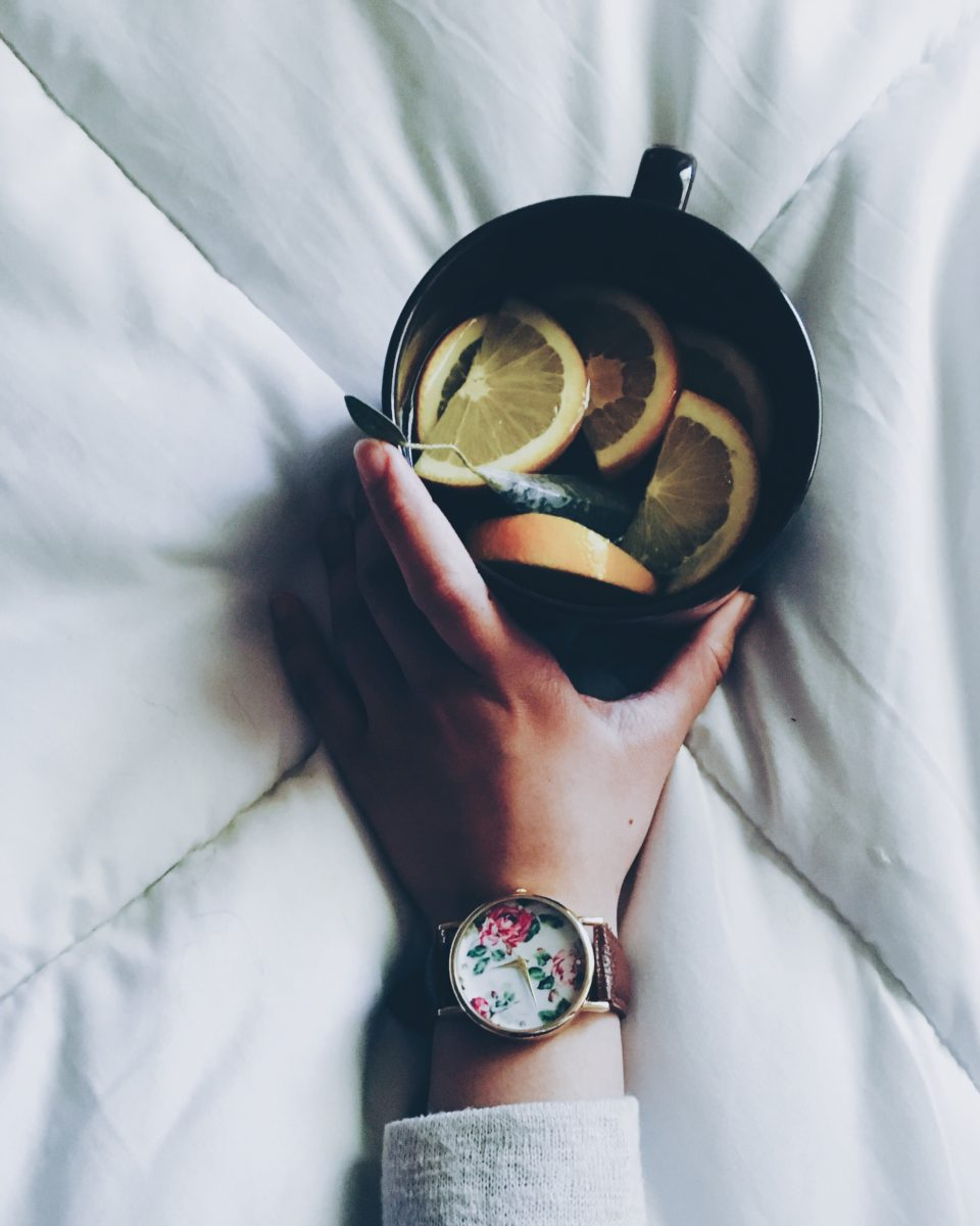 how to stay healthy in cold + flu season