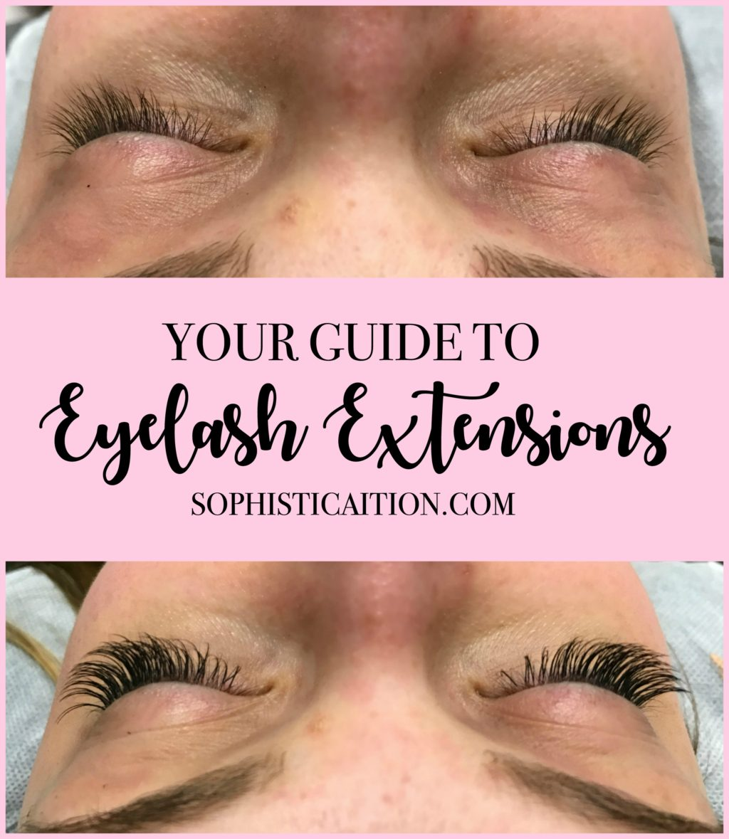 Your Guide To Eyelash Extensions Sophisticaition
