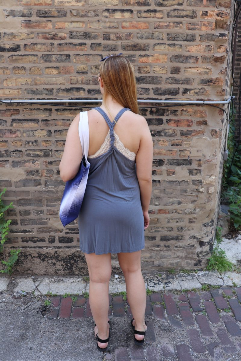 9d42fce6edf773 The back of the bralette matches up with the back of my cover up perfectly.  Swap out your flip flops for some cute sandals