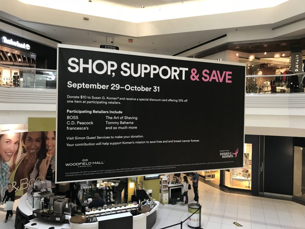 More Than Pink at Woodfield Mall • Sophisticaition