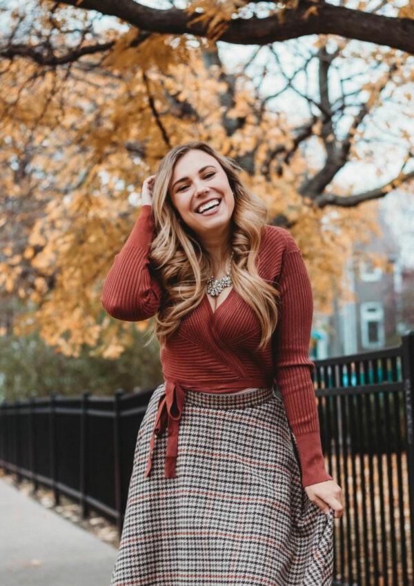 Midi Skirts for Thanksgiving