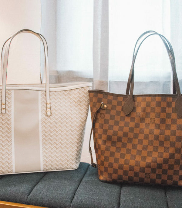 Louis Vuitton Neverfull v. $35 Dupe