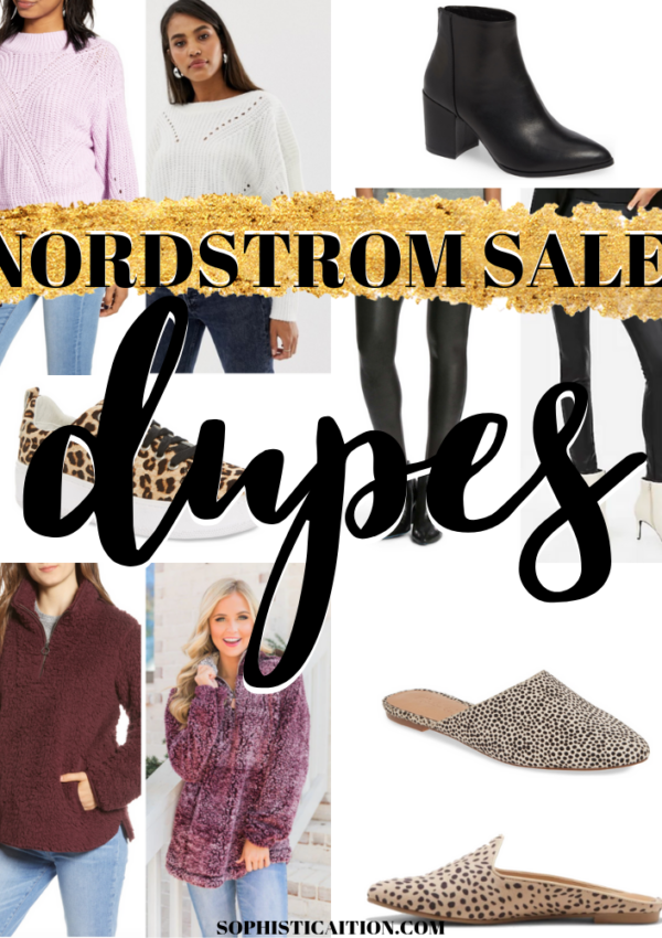 nordstrom sale dupes