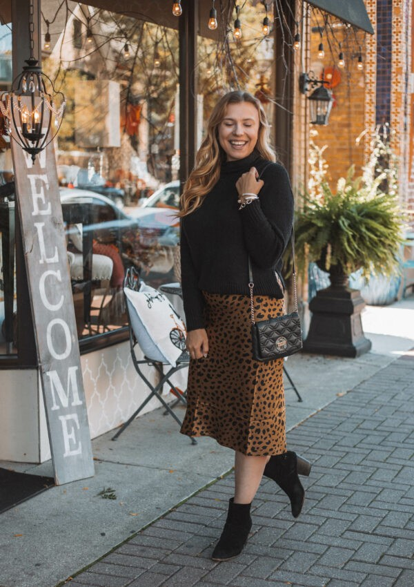 Leopard Midi Skirt Round Up